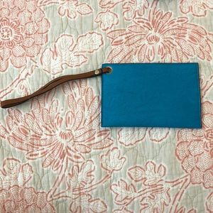 Handbags - Blue Wristlet